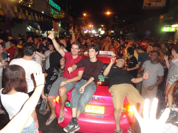 Khao San Road at it's finest.